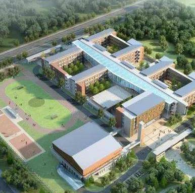 总建筑面积约34694.43平方米中学迁建项目(EPC)