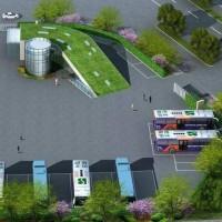 建筑面积2001.7平方米公交站项目