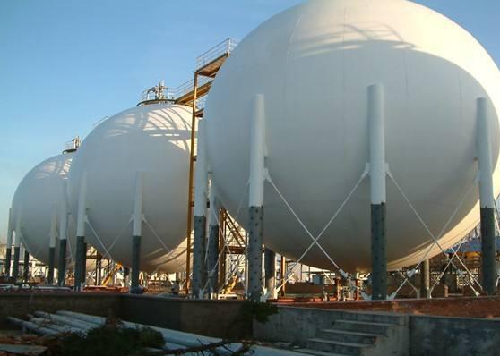 球形储罐的应用和发展现状