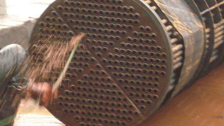 化学和人工方法对换热器大发11选5—大发一分彩的弊端