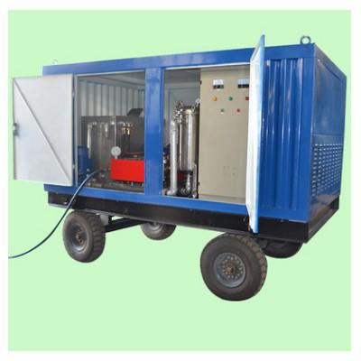 厂家直销冷凝器等设备用高压清洗机工业列管疏通清洗机