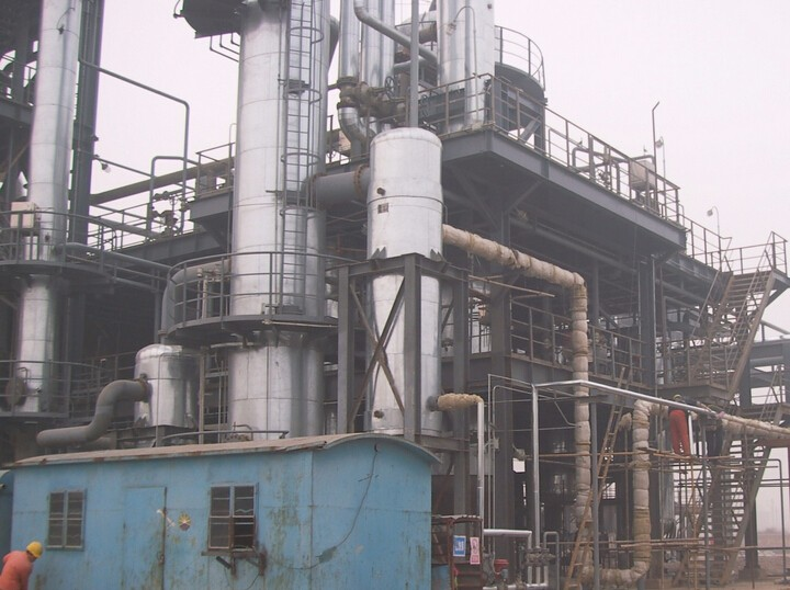 河南省鑫王集团 成套设备化学清洗工程项目