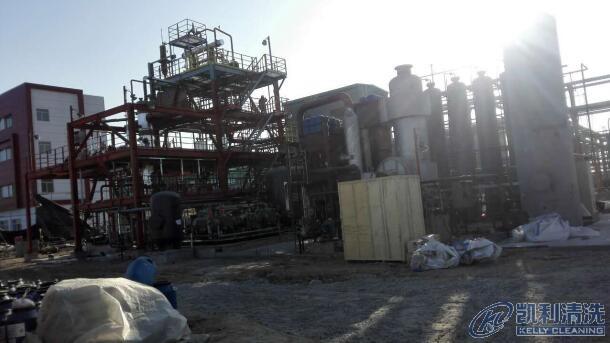 天津霸州热解气脱硫脱碳装置管道设备化学清洗