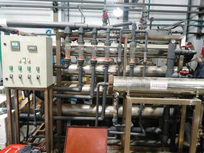 超滤及反渗透化学清洗