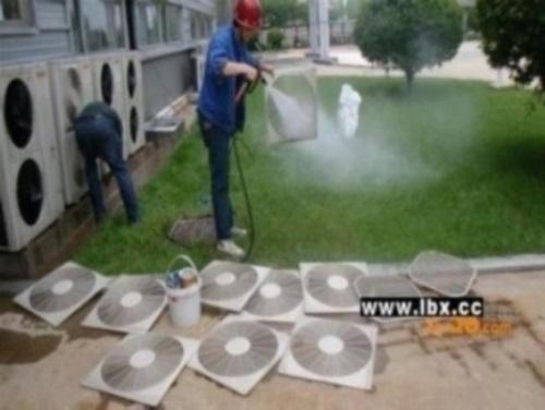 中央空调机组清洗