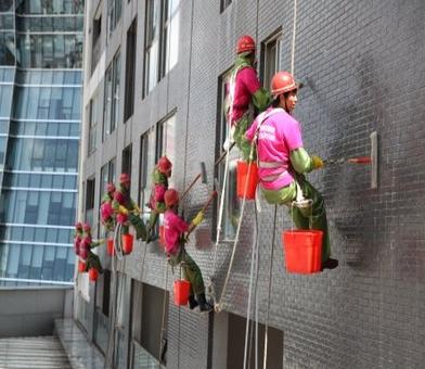 外墙清洗的物理与化学方法