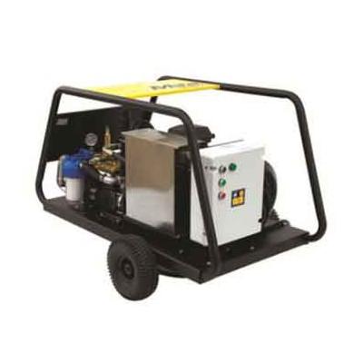 三相电大压力500公斤水喷砂除锈高压清洗机