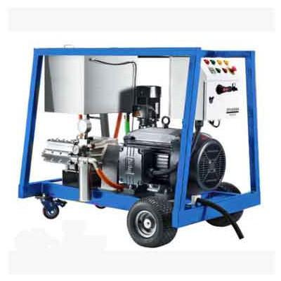 柴油动力管道疏通清洗机市政下水道疏通高压清洗机