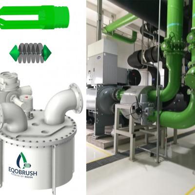 管壳式换热器自动刷式在线清洗