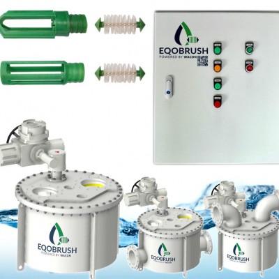 自动管刷换热器在线清洗系统