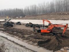 河道清淤施工布置原则和规划